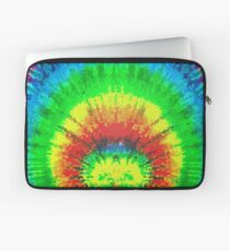 Tie Dye Rainbow Stained Glass Laptop Sleeve
