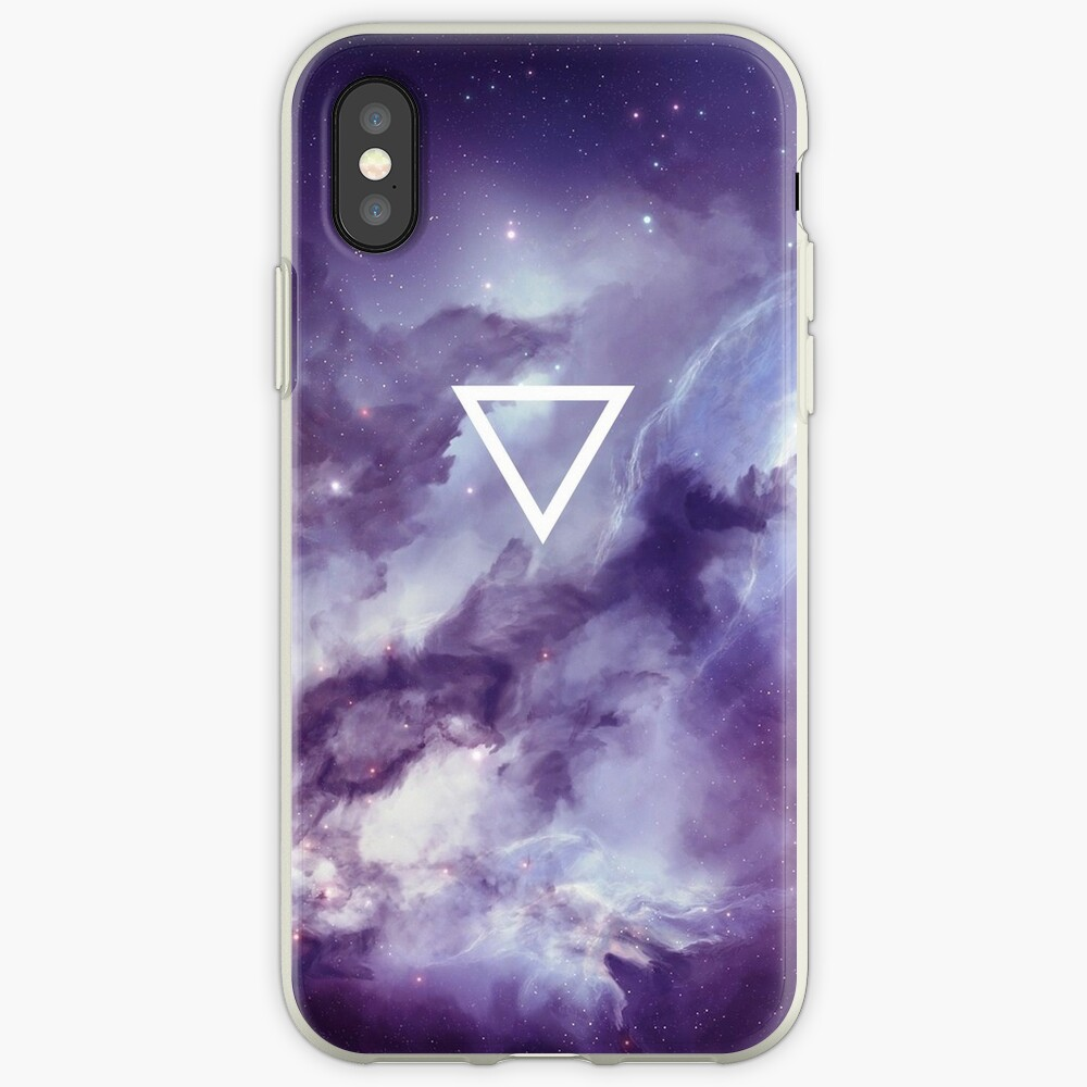 Geometrisch // Galaxie iPhone-Hüllen & Cover