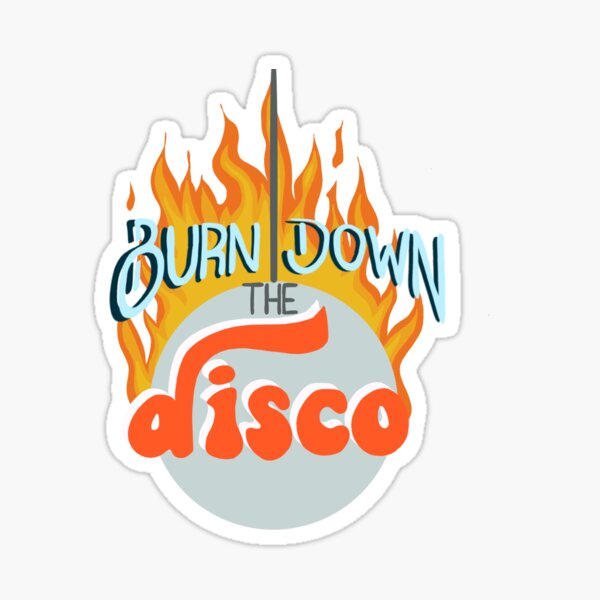 Panic Lyrics, Burn Down the Disco, The Smiths Sticker