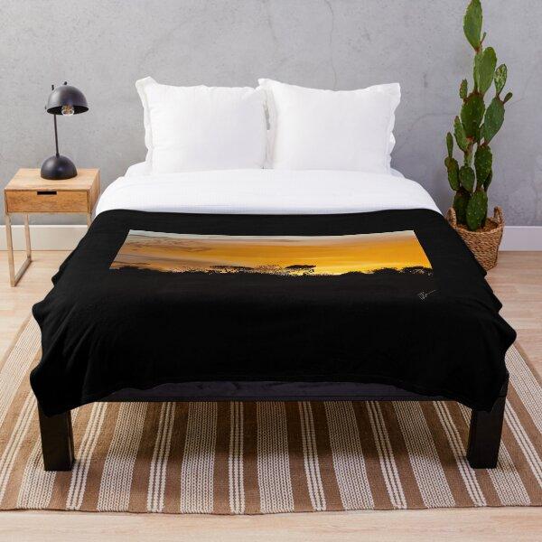 Napoli Sunset Throw Blanket