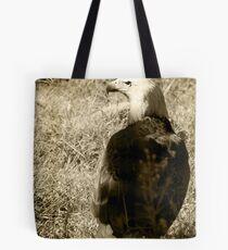 Eagle in Sepia Tote Bag
