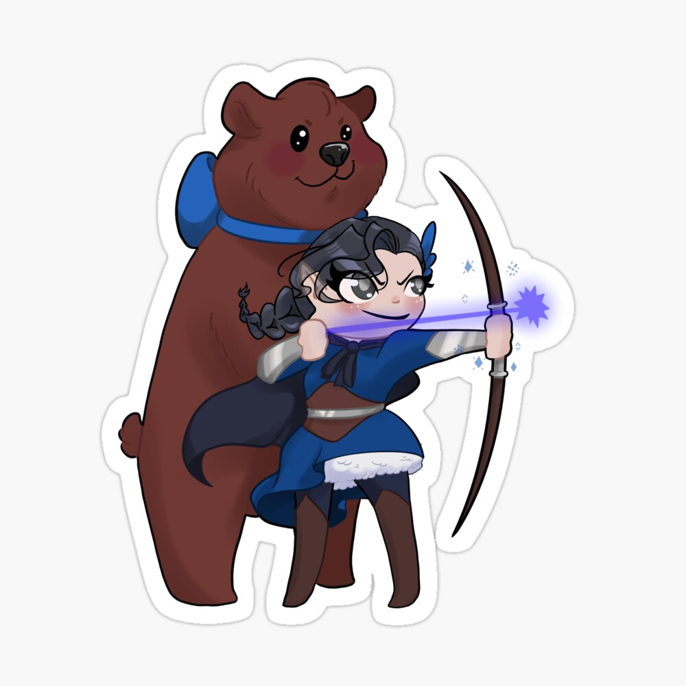 Magical Girl Vex Ahlia And Companion Trinket Metal Print By Ninapedia Redbubble 1024 x 1147 jpeg 191 кб. magical girl vex ahlia and companion trinket metal print by ninapedia redbubble