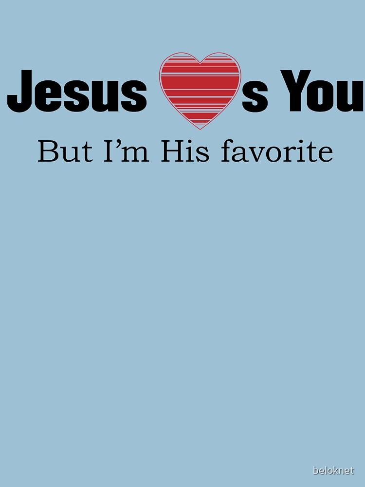 Jesus Loves You by beloknet