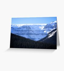 Icefields Highway Greeting Card