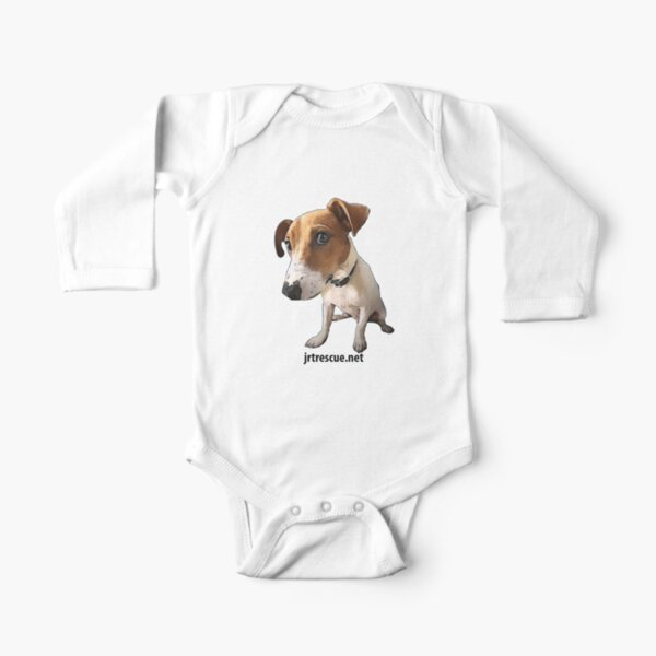 Hugo Jack Russell Terrier for Kids Clothes Long Sleeve Baby One-Piece