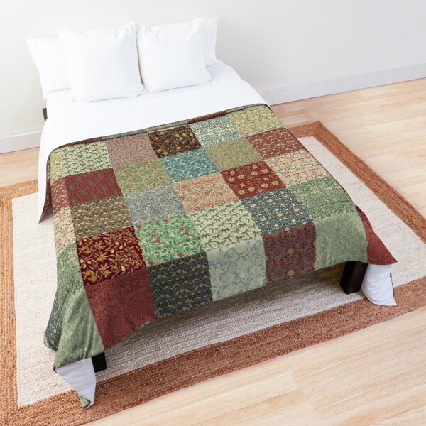 William Morris Pattern Collection Comforter