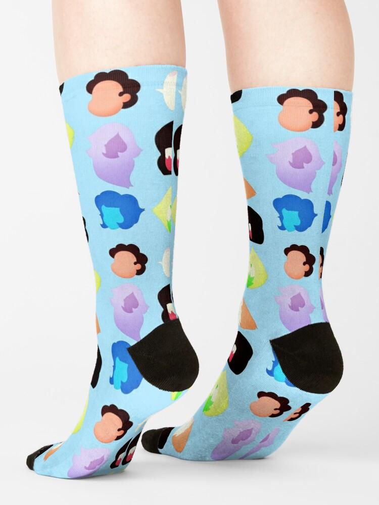 Alternate view of Steven Universe Heads Socks