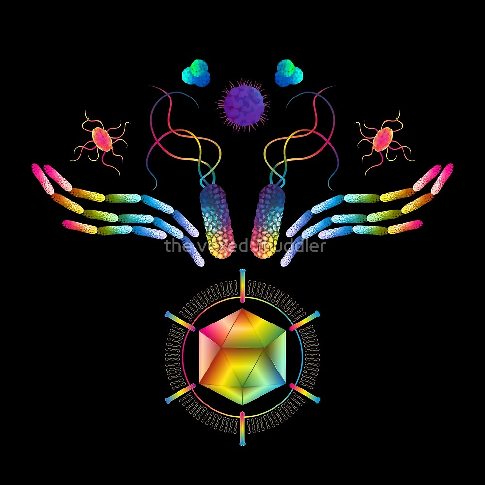 Microbial Wings by the vexed  muddler