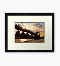 NYC, New York City, USA Framed Print