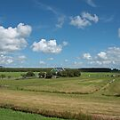 Typical Dutch Polder Landscape by Robert Abraham