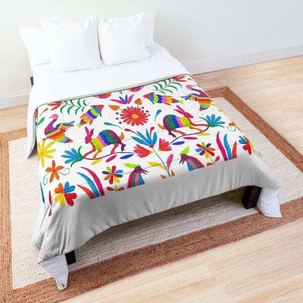 Otomi folk mexican art Comforter