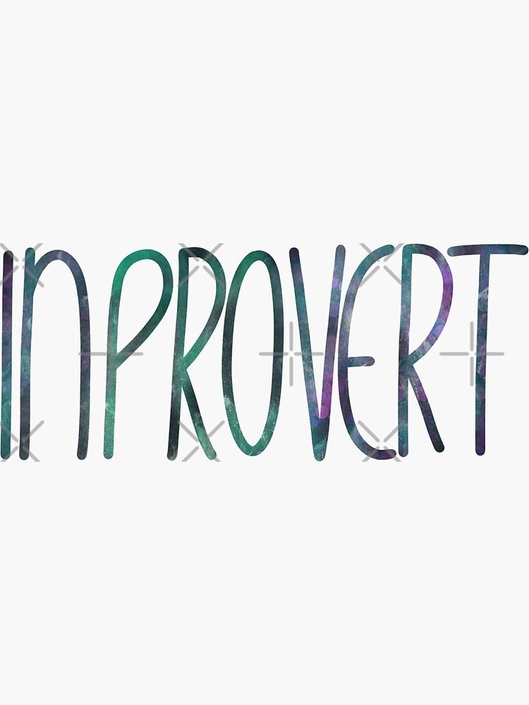 InPROvert - introvert 3 by nobelbunt