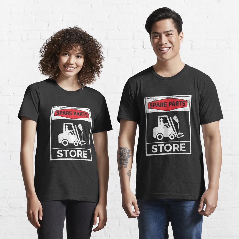 Spare Parts Store - Funny Leg Amputee Essential T-Shirt