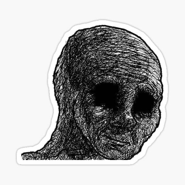 Emoji maldito Pegatina