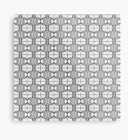 Pattern 11 Metal Print