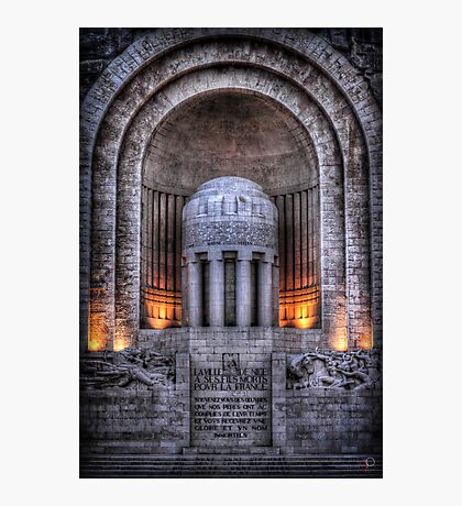 Monument aux Morts Nice Photographic Print