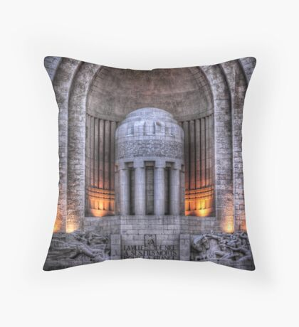 Monument aux Morts Nice Throw Pillow