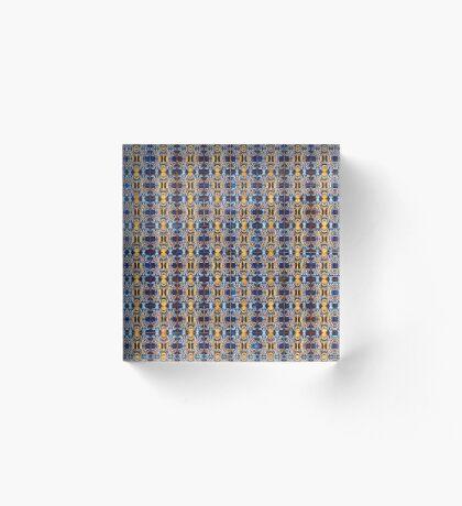 Pattern #10 Acrylic Block