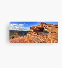 Natures Window, Kalbarri, Western Australia Canvas Print