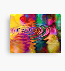 The Displacement of Natural Causality as it Pertains to the Physics of Unnatural Effect Canvas Print