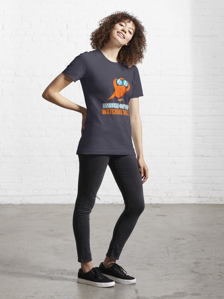 Alternate view of Watch Out My Watching Skills - Bird Watching Essential T-Shirt