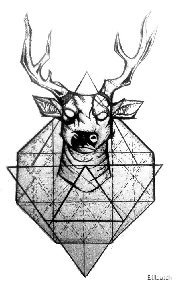 triangle deer by Billbatch
