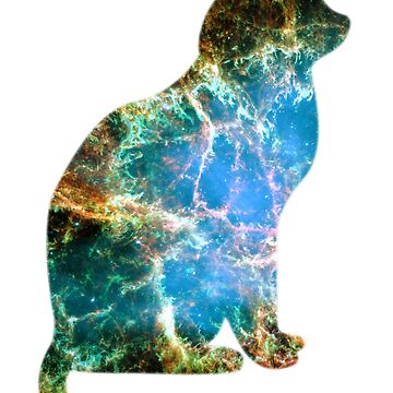 Space Cat by Tikhi