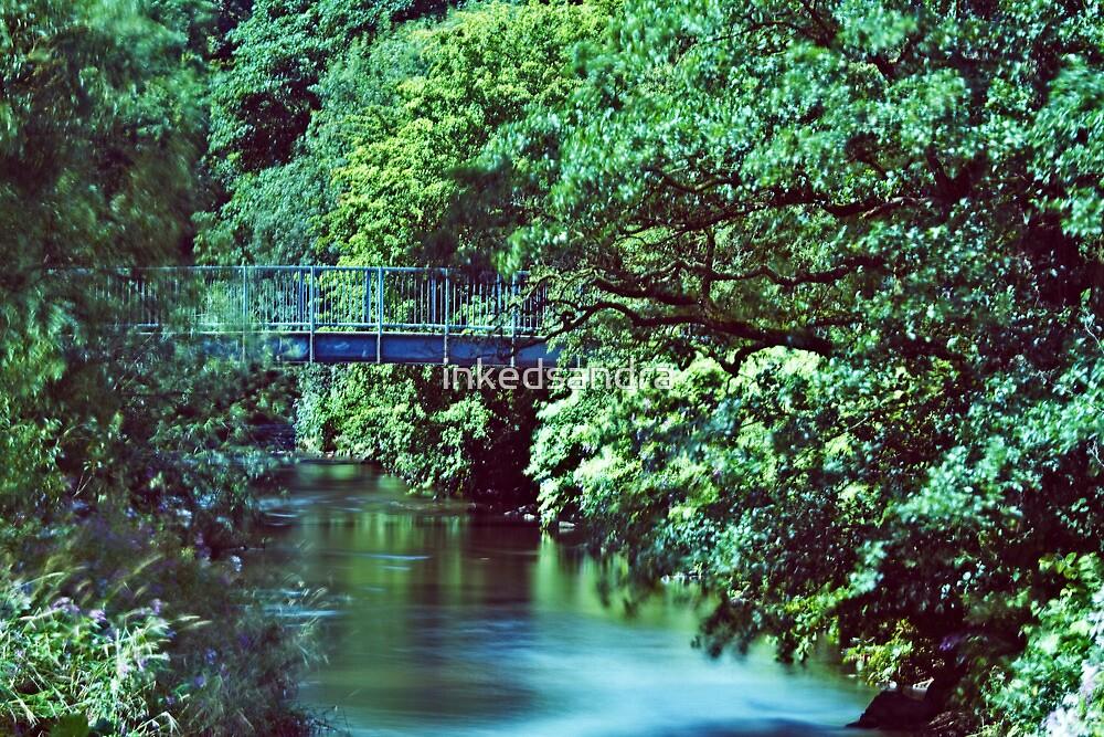 Bridge Over The River Darwen by inkedsandra
