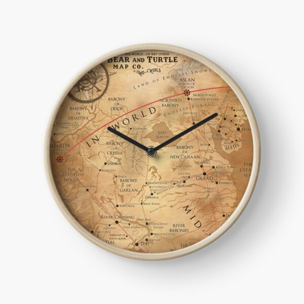 The Dark Tower - Mid-World Map Clock
