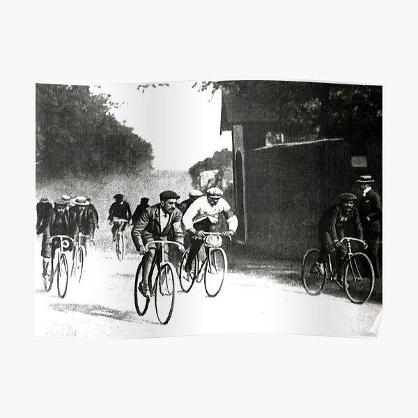 Vintage Tour de France 1903 First Race Poster