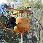Hunter Valley Airshow 2019 - Copter Sculpture by muz2142
