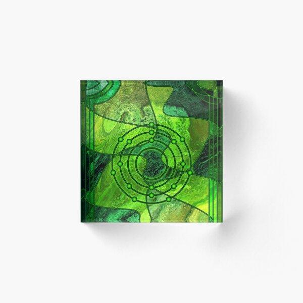 Element 17: Chlorine Acrylic Block