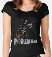 Rock Man Women's Fitted Scoop T-Shirt