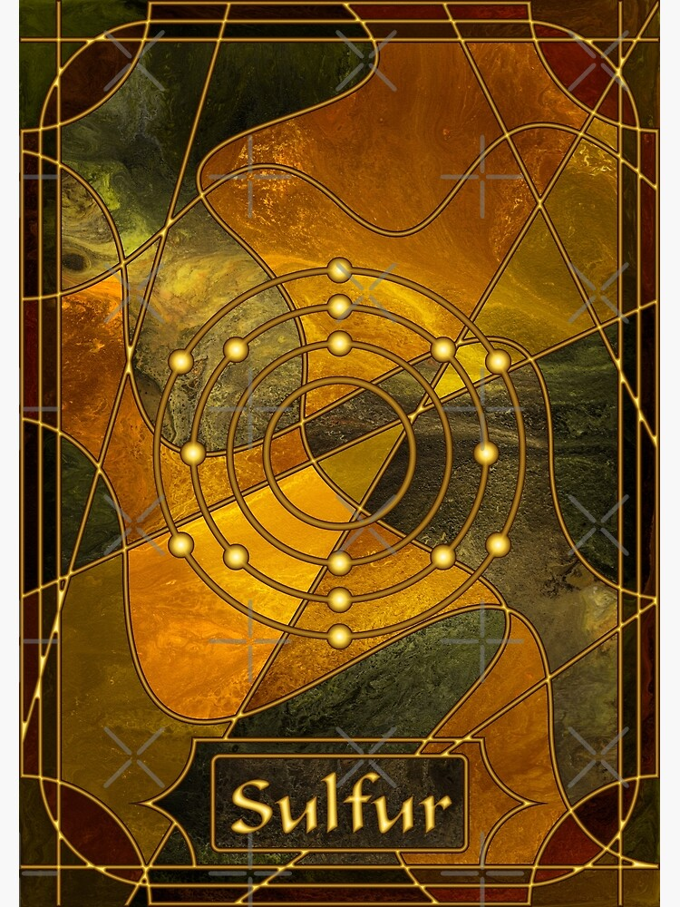 Element 16: Sulfur by kerravonsen