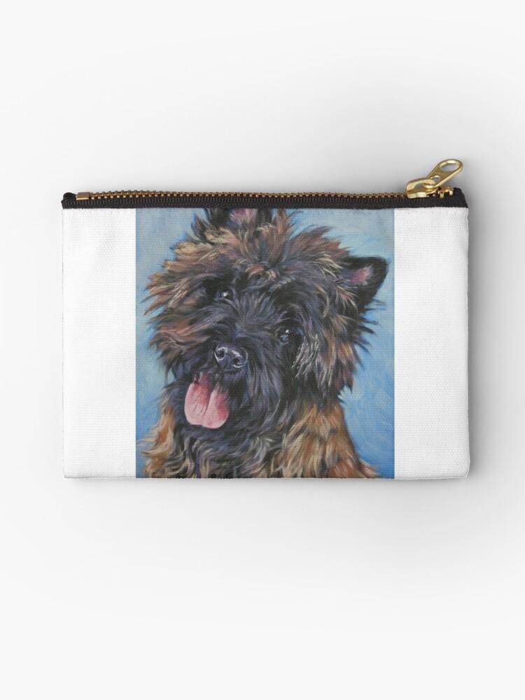 Cairn Terrier Fine Art Painting by lashepard