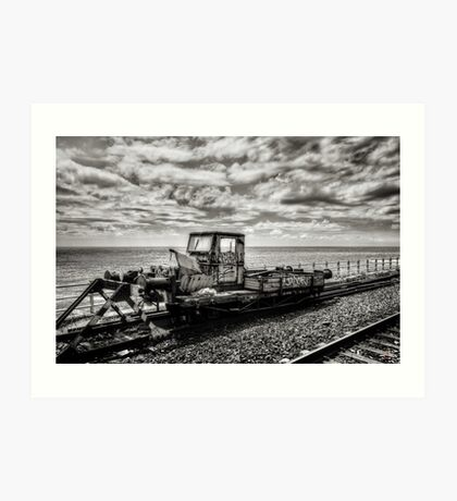 Off the Rails Art Print