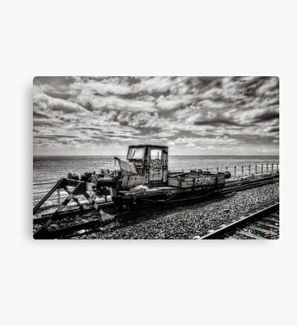 Off the Rails Canvas Print
