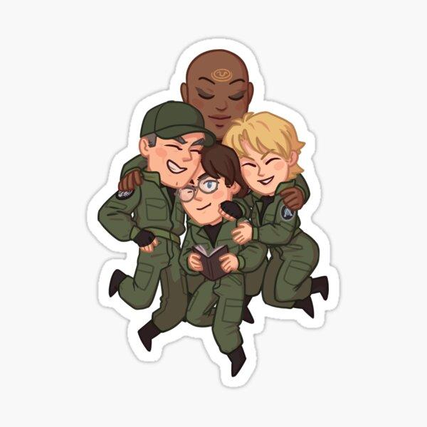 SG-1 fam Sticker