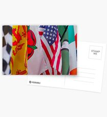 Flags of the World, Postcards