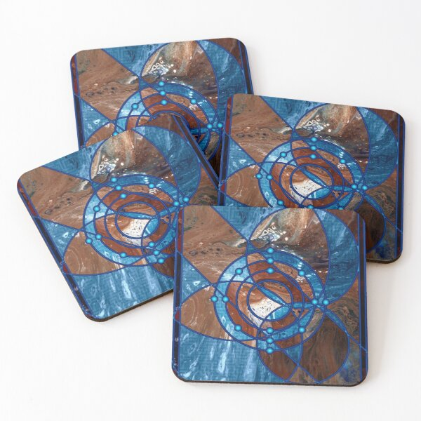 Element 14: Silicon Coasters (Set of 4)