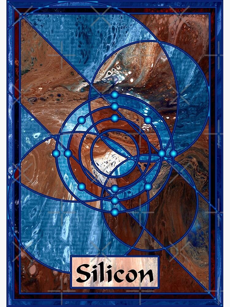 Element 14: Silicon by kerravonsen