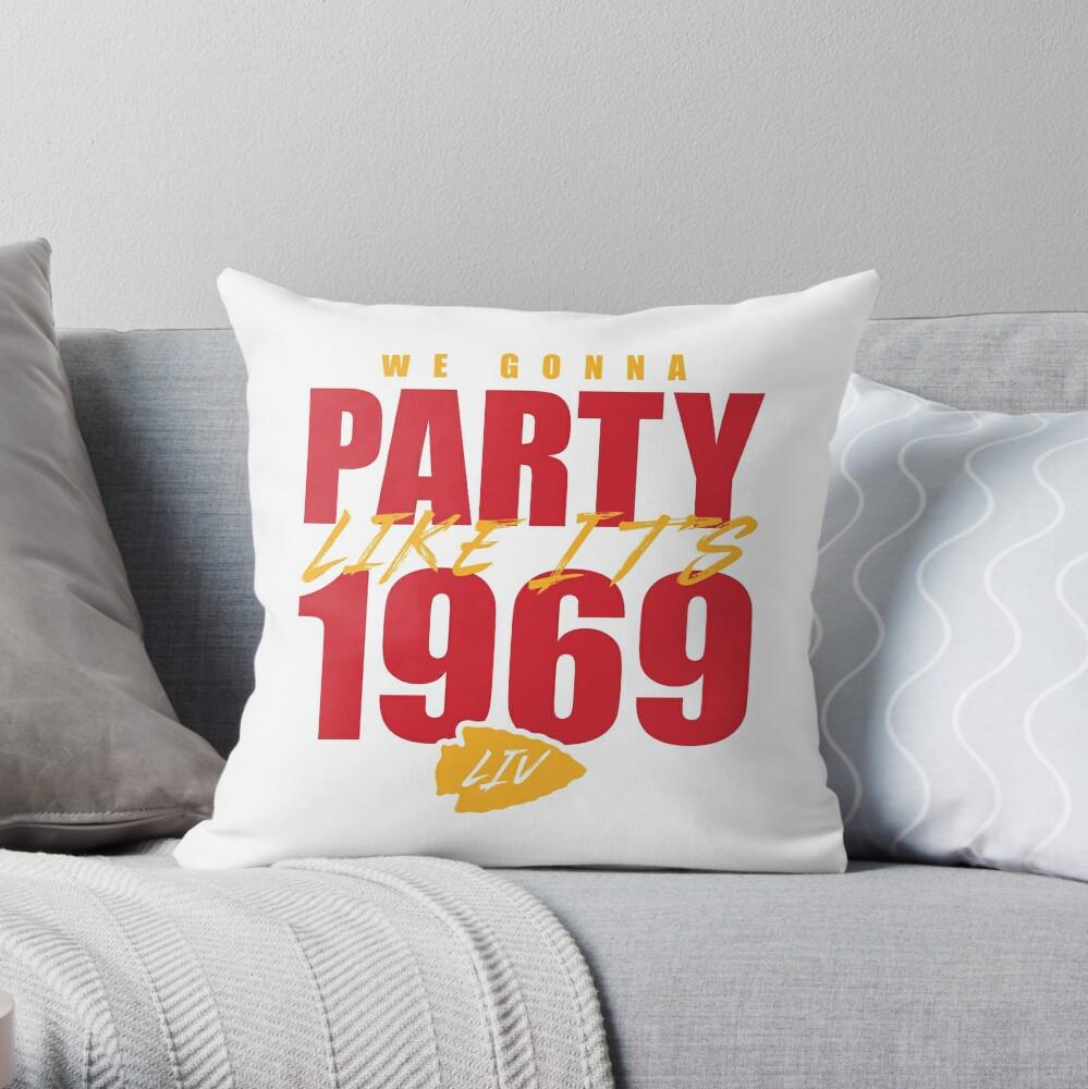 Kansas City - Party Like It's 1969 Throw Pillow