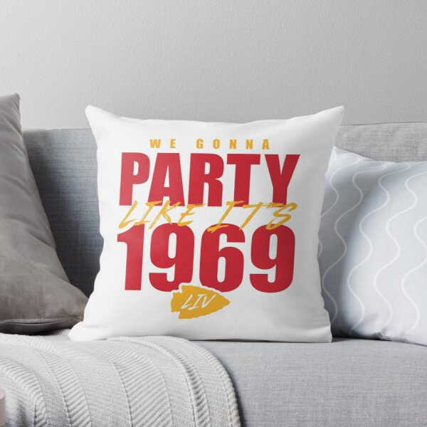 Kansas City - Party Like It's 1969 Throw Pillow