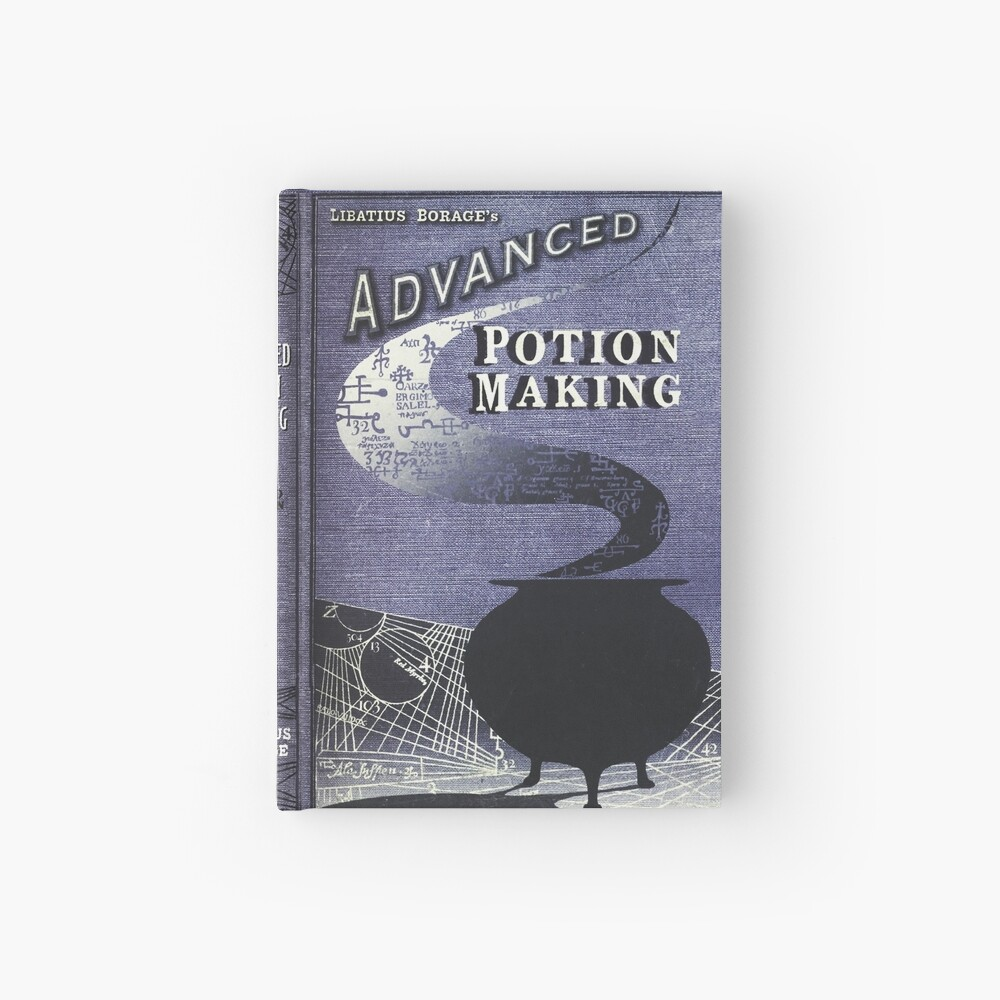 Advanced Potion Making Hardcover Journal