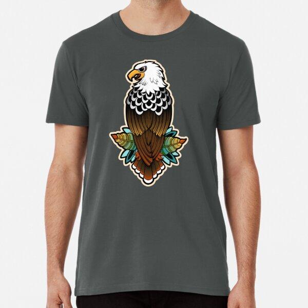 Eagle Tattoo Vector Illustration Premium T-Shirt
