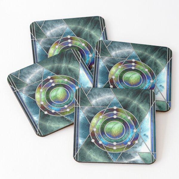 Element 13: Aluminium Coasters (Set of 4)
