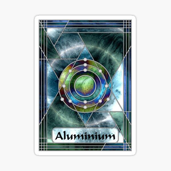 Element 13: Aluminium Sticker