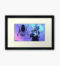 How I met your Spartan. Framed Print