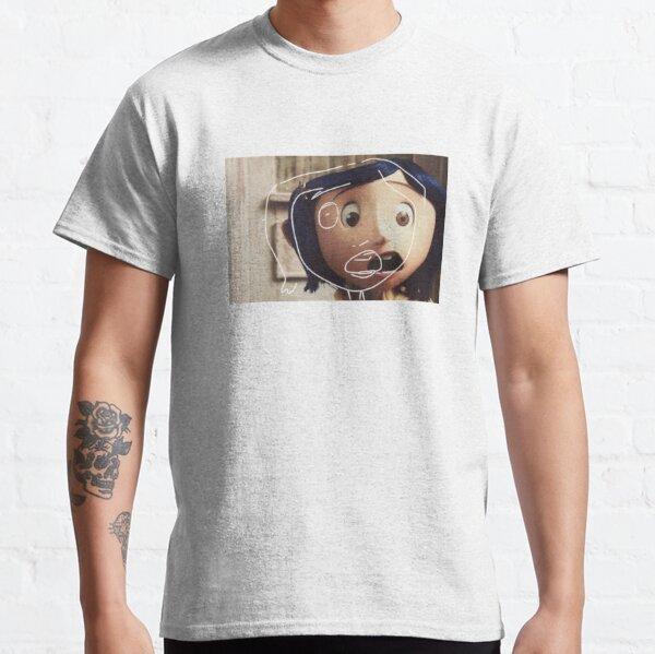 Pegatina coralina Camiseta clásica