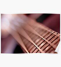 Vertical Bass-lines... Poster